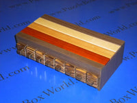 Another Binary Drawer Japanese Puzzle Box by Hiroshi Iwahara