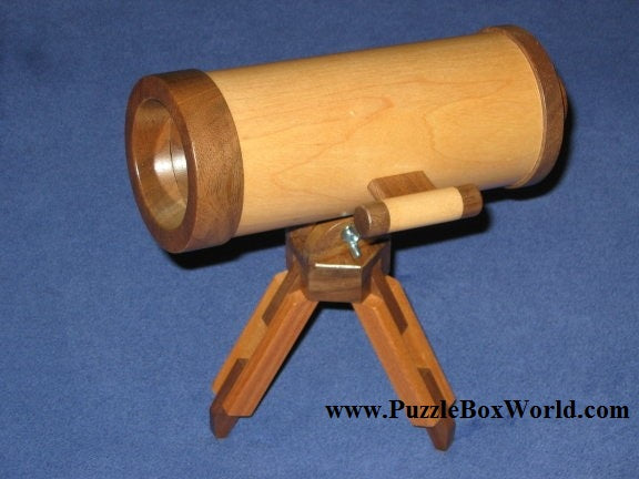 Astronomical Telescope Japanese Secret Puzzle Box