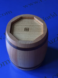 Barrel II Japanese Puzzle Box by Akio Kamei