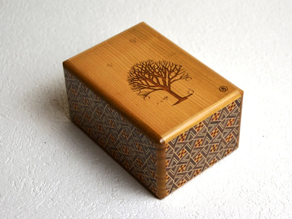 Box with a Tree (Kirichigae Special Edition) Japanese Puzzle Box