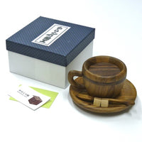 Coffee Cup Japanese Trick Box by Akio Kamei