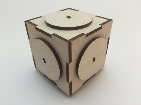 The Cubey 4 Puzzle Box (Self Assembly Kit)
