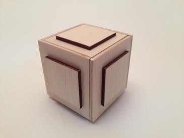 The Cubey Puzzle Box (Self Assembly Kit)