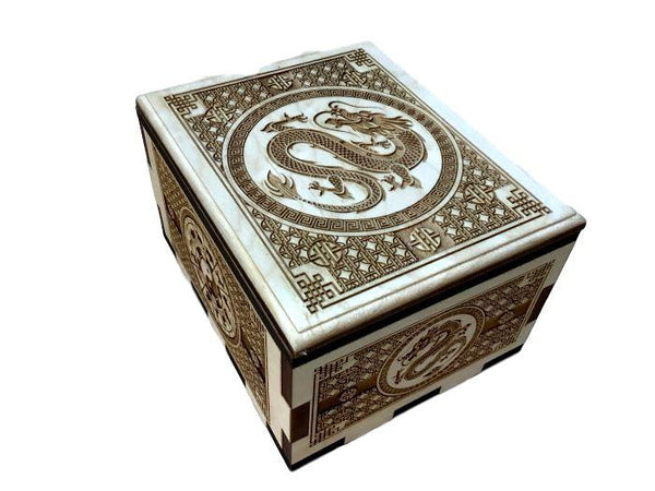 The Hurricane Dragon Puzzle Box