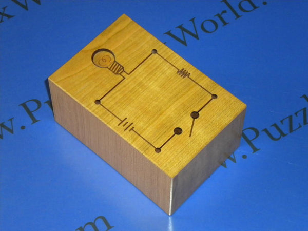 Erectric Circuit Puzzle Box by Akio Kamei
