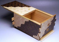 6 Sun 54 + 1 Step 2-C Saya Japanese Puzzle Box by Mr. Yamanaka