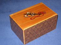 6 Sun 10 Step Limited Edition Sumo Japanese Puzzle Box 2