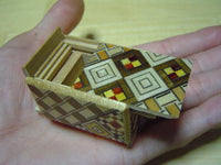 "14 Step ""Mini Trick"" Yosegi  Traditional Japanese Puzzle Box"
