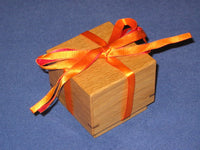 String Japanese Puzzle Box by Humio Tubari
