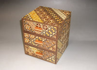 Three Brothers Koyosegi  Japanese Puzzle Box