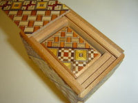 2.5 Sun 5 Step Nested Yosegi  Japanese Puzzle Box  By Mr. Oka