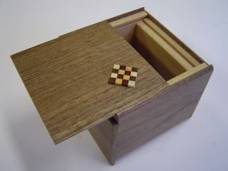 3 Sun 4 Step Natural Wood Jewelry Case Japanese Puzzle Box 2