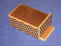 "4 Sun 5 Step Japanese ""Knock""  Secret Puzzle Box Back"
