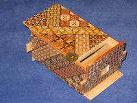 5 Sun 35 +1 Step Yosegi Japanese Puzzle Box