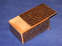 4 Sun 4 Step Kuroasa Japanese Puzzle Box  By Mr. Yamanaka