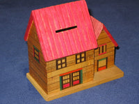 Vintage Japanese House Bank