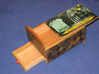 Vintage Haunted Mansion Japanese Secret Panel Chest