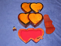 Two Hearts Vietnamese Puzzle Box