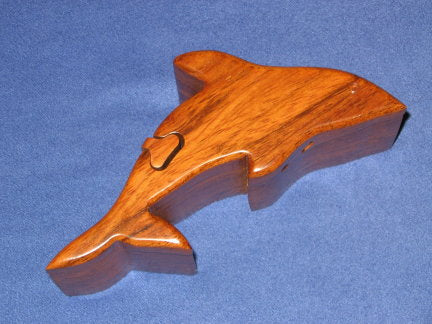 Small Dolphin Puzzle Box
