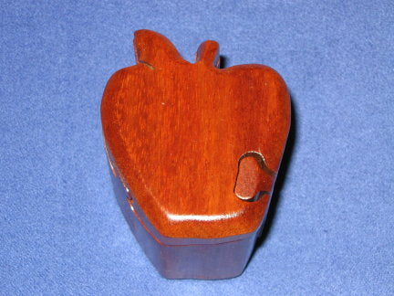 Mini Apple Puzzle Box