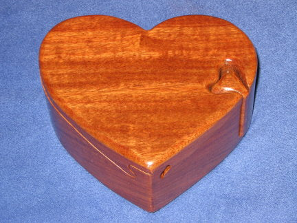 Big Heart Puzzle Box
