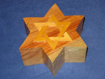 Star of David Puzzle Box