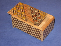 "4 Sun 5 Step Japanese ""Knock""  Secret Puzzle Box"