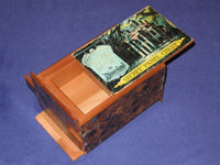 LARGE Vintage Disneyland Haunted Mansion Japanese Secret Panel Chest