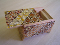 3 Sun 12 Step Yosegi  Japanese Puzzle Box