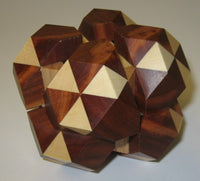 Dual Tetrahedron 05 Interlocking Puzzle P 1