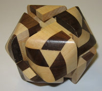 Truncocta Oval 2 Interlocking Puzzle B