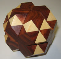 Dual Tetrahedron 05 Interlocking Puzzle P 2