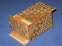 4 Sun 14 Step DOUBLE COMPARTMENT Japanese Puzzle Box