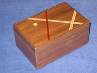 5 Sun 21 +1 Step Limited Edition Natural Wood Japanese Puzzle Box #3