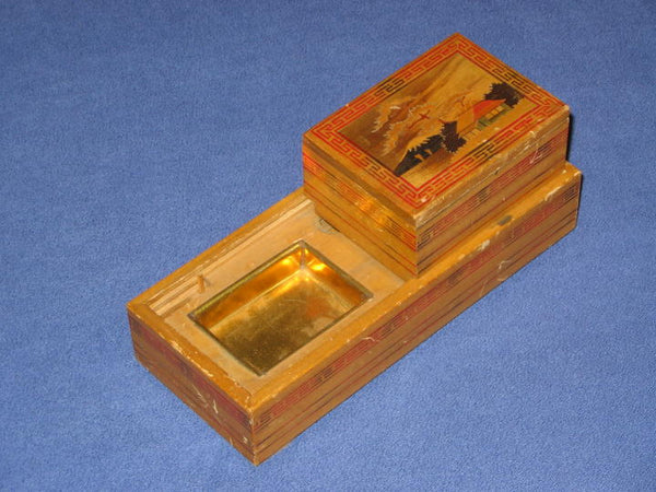 Vintage Japanese Cigarette Dispenser (Sliding Box)