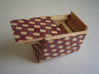14 Step Mame Kuzushi Japanese Puzzle Box