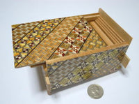4 Sun 27 Step Yosegi Japanese Puzzle Box by Oka-san