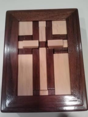Double Crossed Puzzle Box