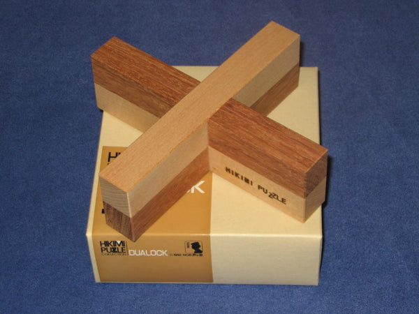 Hikimi Collection Dualock Wooden Puzzle