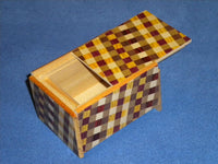 3 Sun 4 Step Ichimatsu Japanese Puzzle Box By Mr. Oka