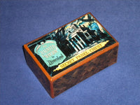 Vintage Disneyland Haunted Mansion Japanese Secret Panel Chest 1
