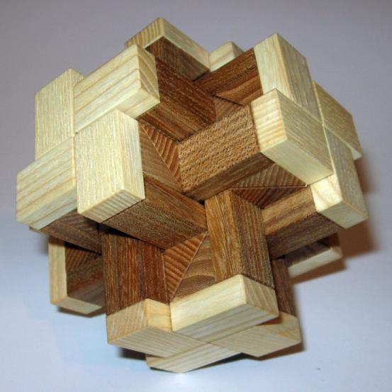HexCross Interlocking Puzzle