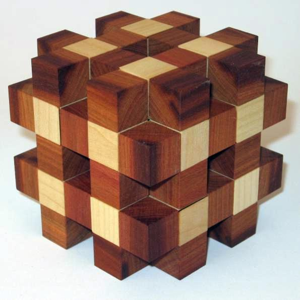 Numero Caro Interlocking Puzzle