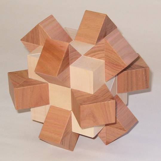 Hedgehog Interlocking Puzzle