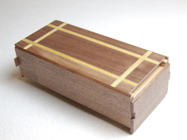 Large 7 Step Japanese Natural Wood Puzzle Box A1