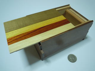 5 Sun 14 Step Natural Wood Japanese Puzzle Box  By Mr. Oka