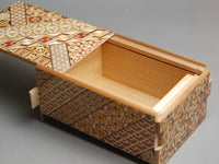 5 Sun 10 Step Yosegi Japanese Puzzle Box