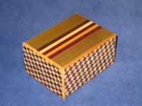 4 Sun 7 Step MAZE Limited Edition Japanese Puzzle Box