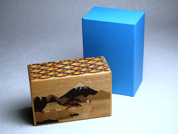 5 Sun 10 Step MK Zougan Sansui Japanese Puzzle Box