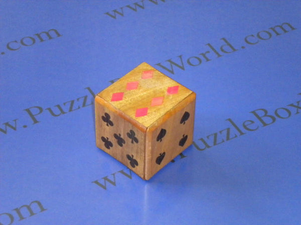 Vintage 2 Step Japanese Puzzle box